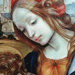 Filippino Lippi - Maria Magdalena (fragment fresku)