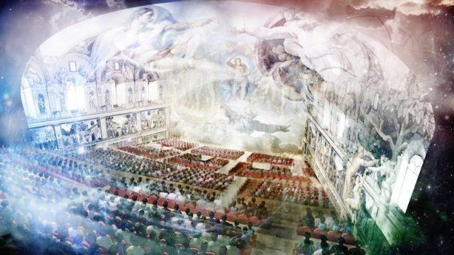 Kaplica Sykstyńska - spektakl audiowizualny