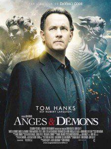 Plakat filmu ANIOŁY i DEMONY
