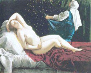 Artemizja Gentileschi - Danae