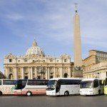 Rzym - autokary w Watykanie