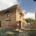 Stara Ostia - kamienice czynszowe