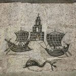 Stara Ostia - mozaika