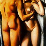 Adam i Ewa - Tamara de Lempicka
