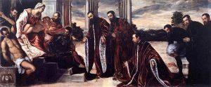 Tintoretto - Madonna skarbników (camerlengów)