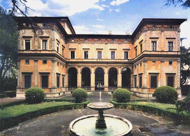 Villa Farnesina w Rzymie