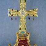 Skarbiec Watykański - Relikwiarz Crux Vaticana