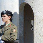 Żołnierze na ulicach Rzymu 1